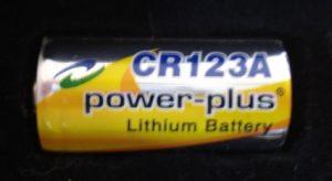 CR123-Batterie