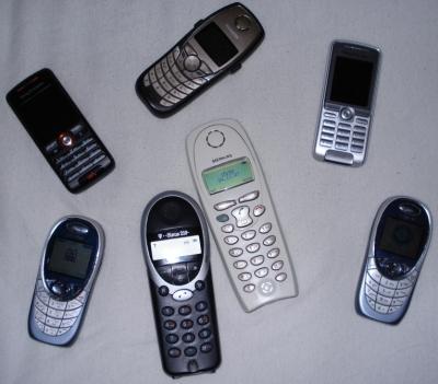 Zu viele Telefone